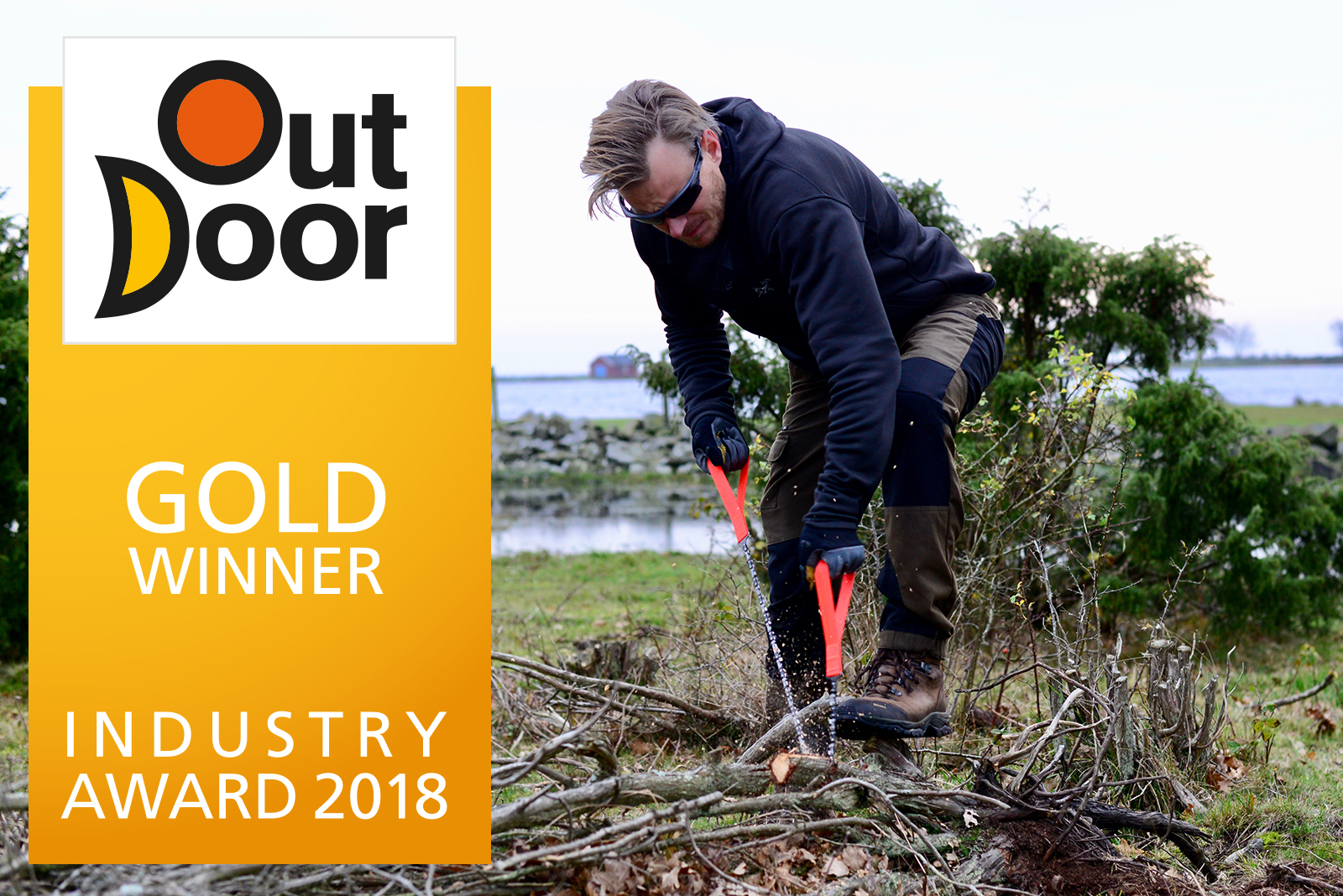 Nordic Pocket Saw is Winning the OutDoor INDUSTRY AWARD
